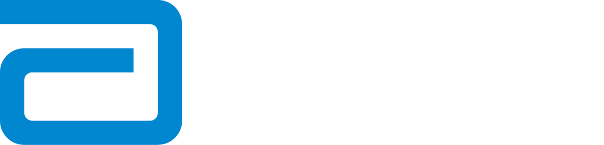 Logo Abbott Nutrition White